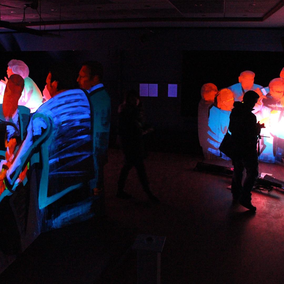 Soloausstellung, Luminale