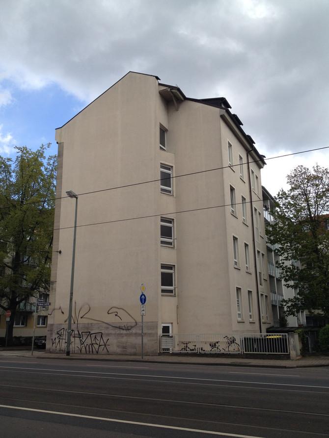 Die zweite Fassade