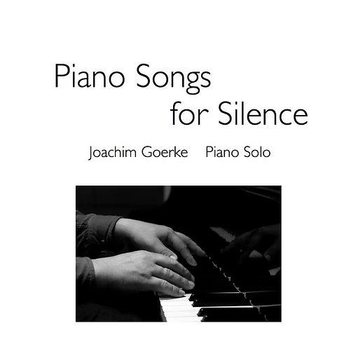 Piano Songs For Silence - Noten (Gesamtausgabe)