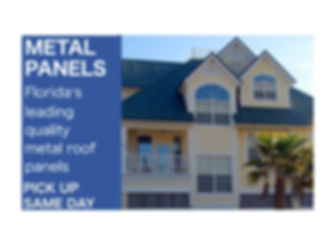 Aluminum Metal Roof Manufacturer