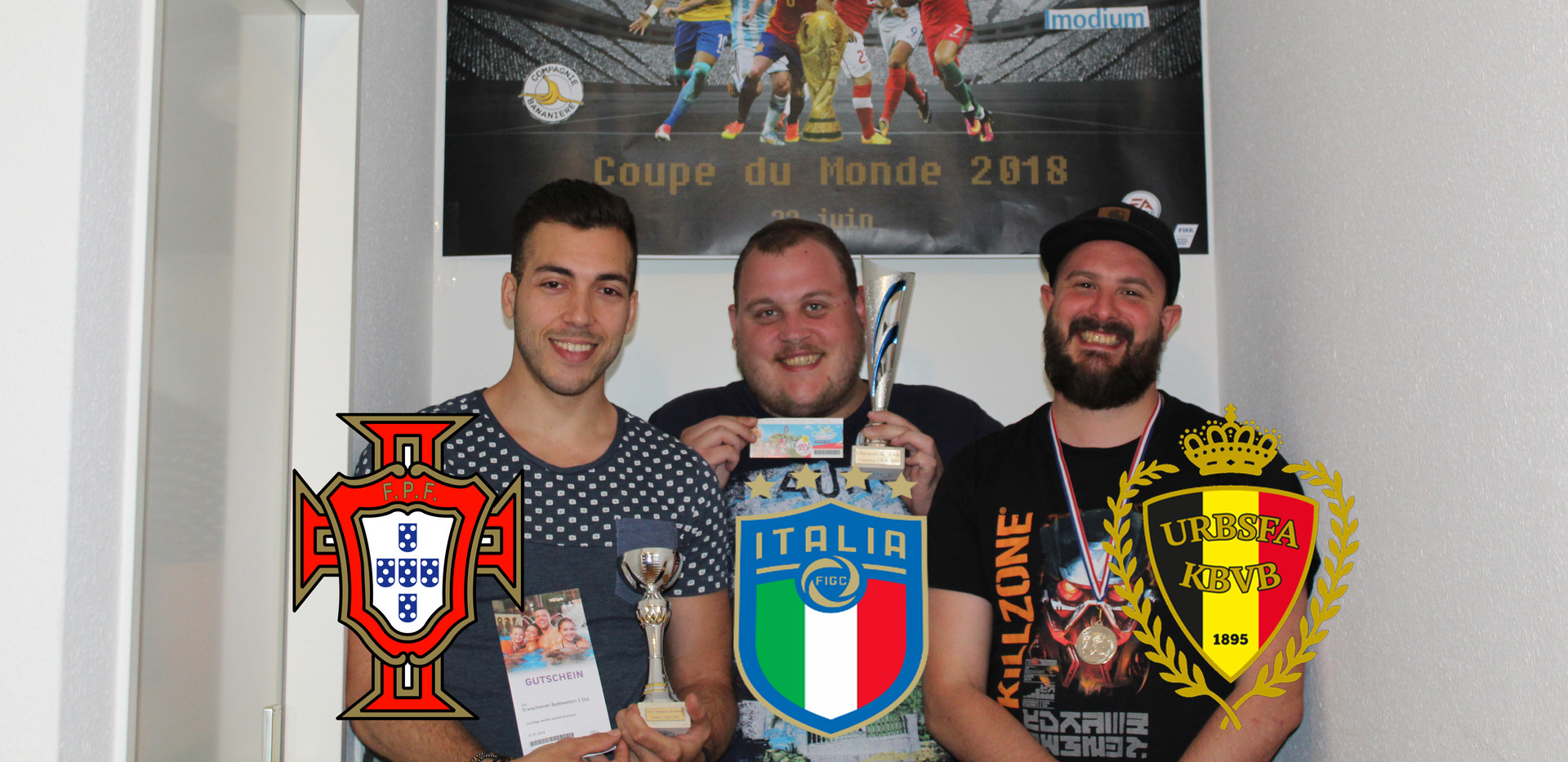 Podium du tournoi