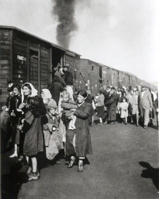 המסע ברכבות ההשמדה