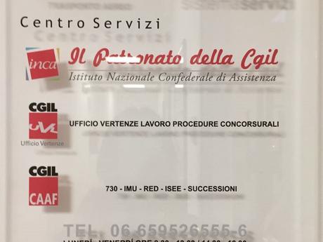 FILT CGIL ROMA COL: IL NOSTRO CENTRO SERVIZI IN AEROPORTO.
