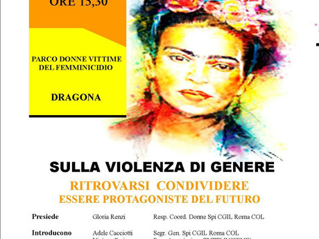 """CGIL ROMA COL: INIZIATIVA SPI CGIL ROMA COL E ASSOCIAZIONE """"TUTTI INSIEME"""" SULLA VIOLENZA"""