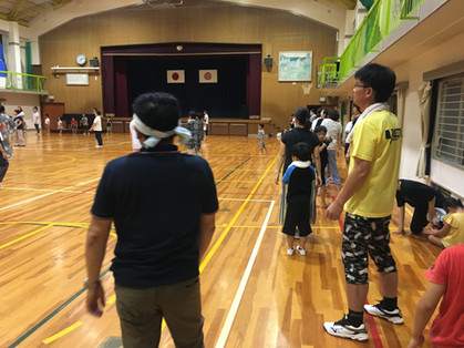 夏祭り盆踊り練習会1日目