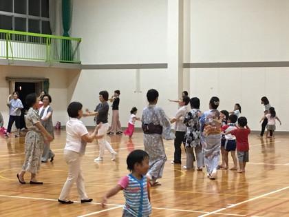 夏祭り、盆踊り練習
