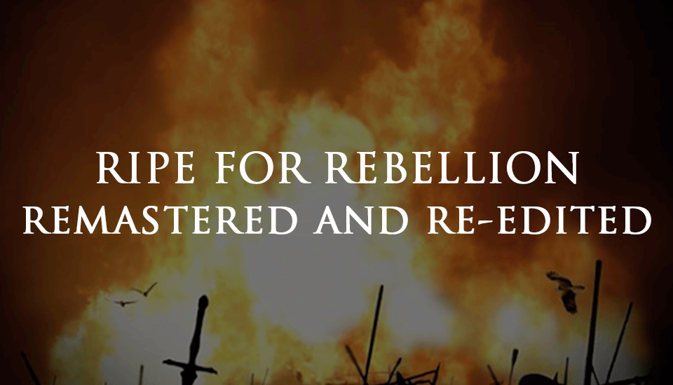 Triddana Ripe For Rebellion remastered redited remixed new vocals