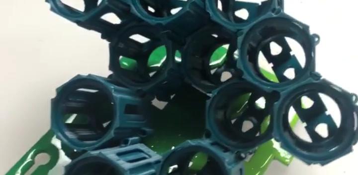 Ink pods dark blue video