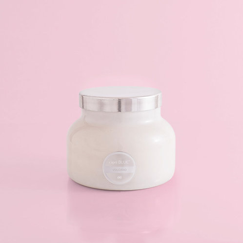 White Volcano Candle