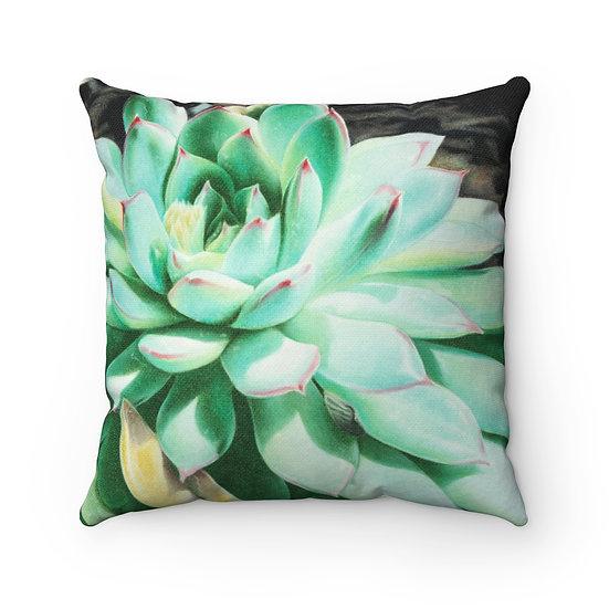 """""""Sunlit Succulent"""" Pillow"""