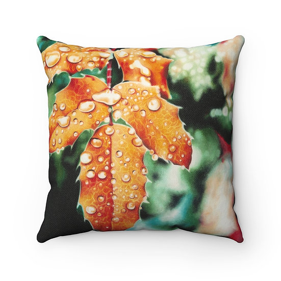 """Harvest Dewdrops"" Pillow"