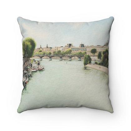 """""""Pont Des Arts"""" Pillow"""