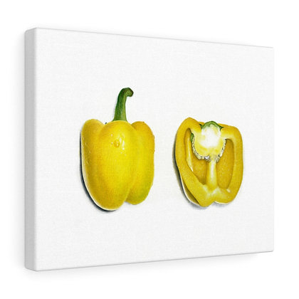 """Capsicum Annuum {Bell Pepper}"" Limited Edition Canvas Print"