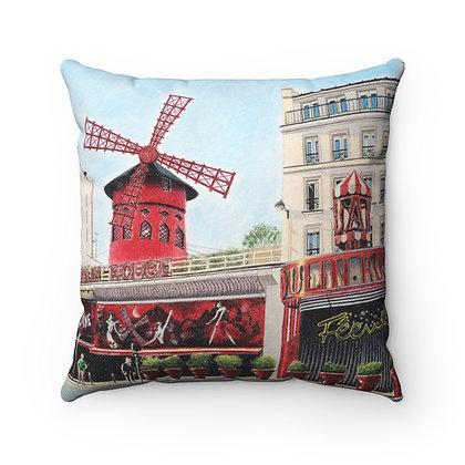 """""""Le Moulin Rouge"""" Pillow"""