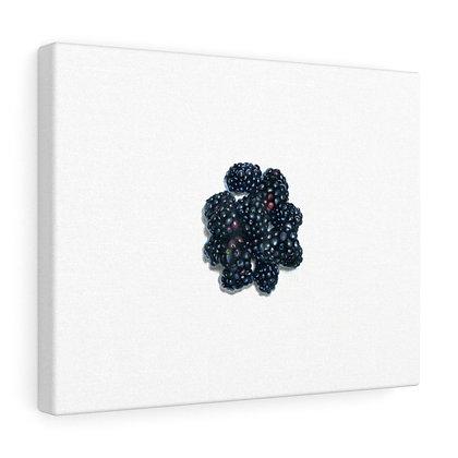 """Rubus Fruticosus {Blackberry}"" Limited Edition Canvas Print"