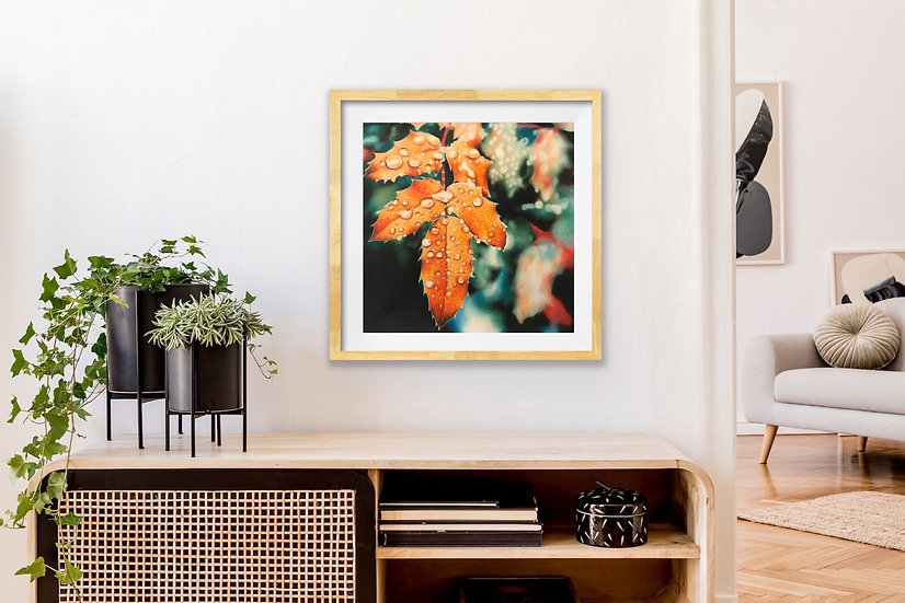"""Harvest Dewdrops"" Print"
