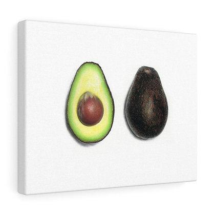 """""""Persea Americana {Avocado}"""" Limited Edition Canvas Print"""