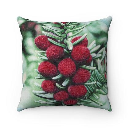 """""""Winter's Rubies"""" Pillow"""
