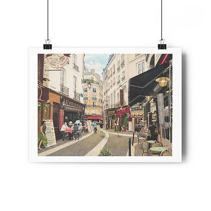 """Rue Severin"" Limited Edition Print"