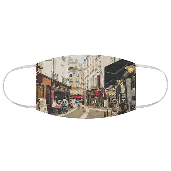 """Rue Severin"" Fabric Face Mask"