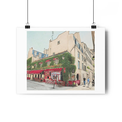 """""""Le Marais in the Morning"""" Limited Edition Print"""
