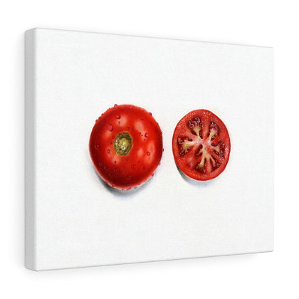"""Solanum Lycopersicum {Tomato}"" Limited Edition Canvas Print"