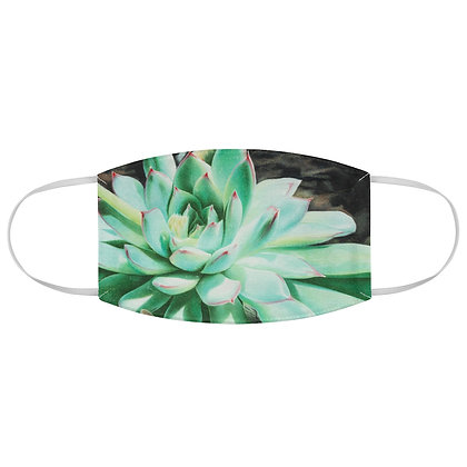 """Sunlit Succulent"" Fabric Face Mask"