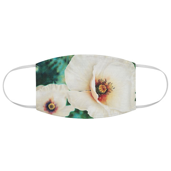 """""""Luminous Blossom"""" Fabric Face Mask"""