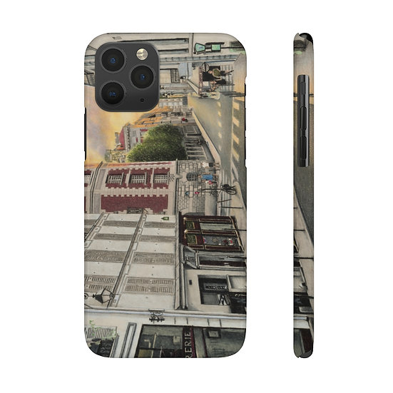 """""""Sunset on the Left Bank"""" Phone Case"""