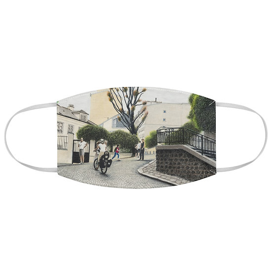 """""""Hills of Montmartre"""" Fabric Face Mask"""
