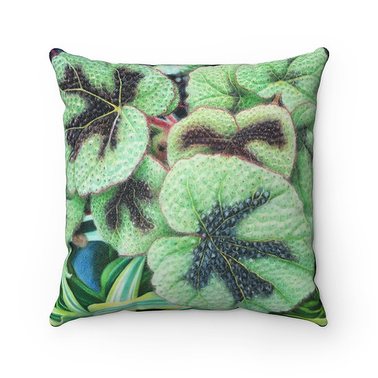 """Rhapsody in Green"" Pillow"