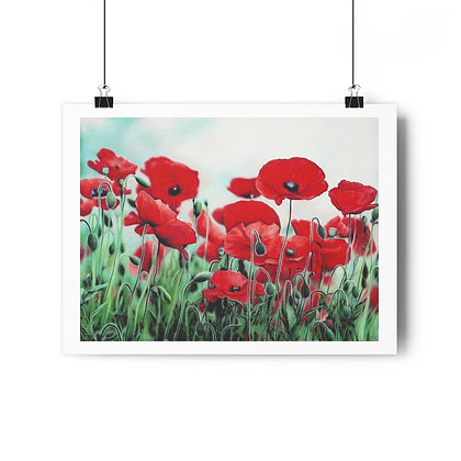 """Blushing Poppies"" Limited Edition Print"