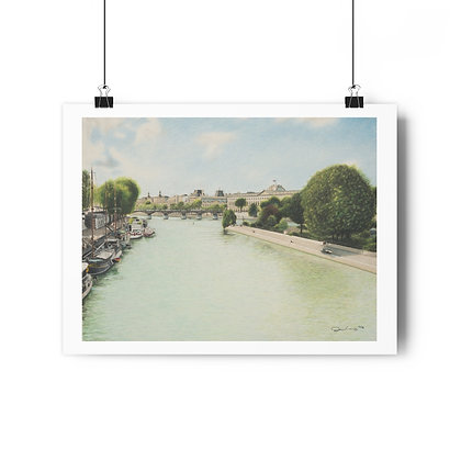 """Pont Des Arts"" Limited Edition Print"