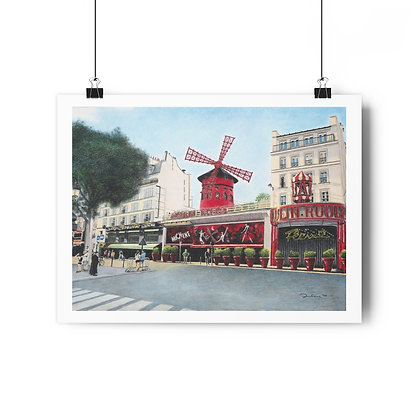 """""""Le Moulin Rouge"""" Limited Edition Print"""