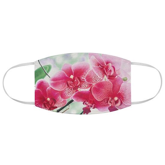 """Petals of Serenity"" Fabric Face Mask"