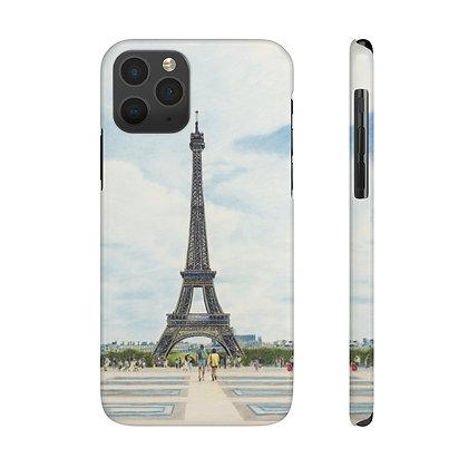"""""""Esplanade du Trocadero"""" Phone Case"""