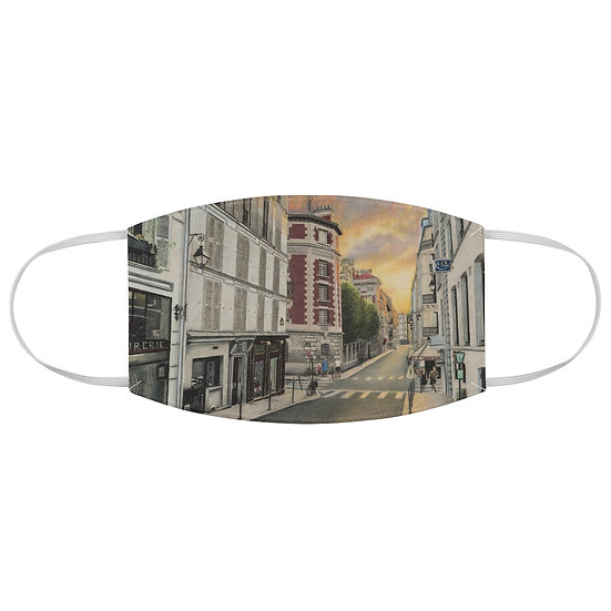 """Sunset on the Left Bank"" Fabric Face Mask"