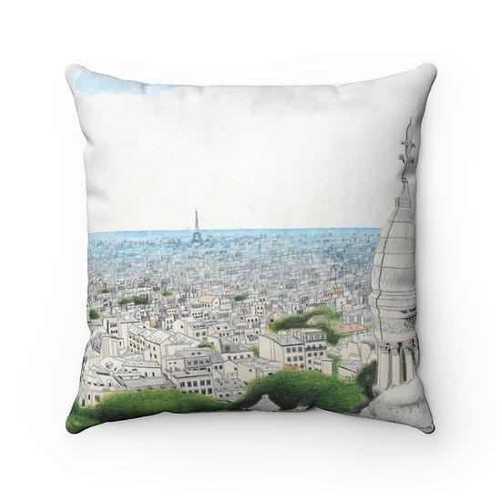 """""""Sacre Couer"""" Pillow"""