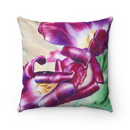 """""""Silken Delicacy"""" Pillow"""