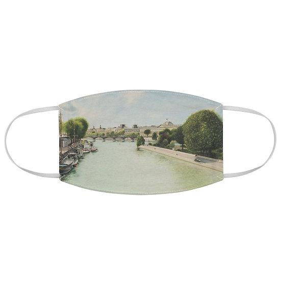 """""""Pont Des Arts"""" Fabric Face Mask"""