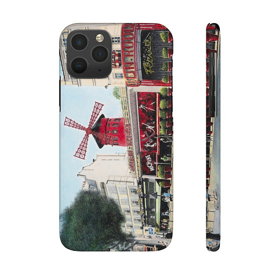 """Le Moulin Rouge"" Phone Case"