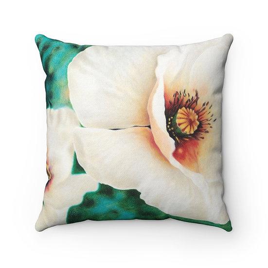 """Luminous Blossom"" Pillow"
