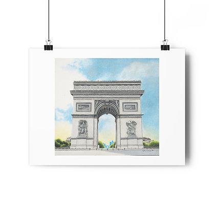 """""""L'Arc de Triomphe"""" Limited Edition Print"""