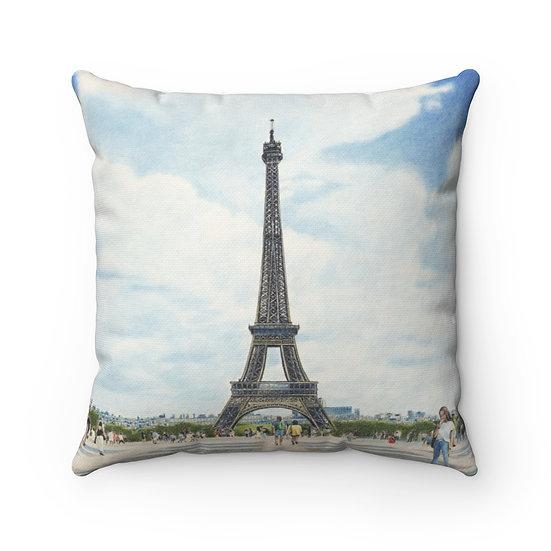 """""""Esplanade du Trocadero"""" Pillow"""