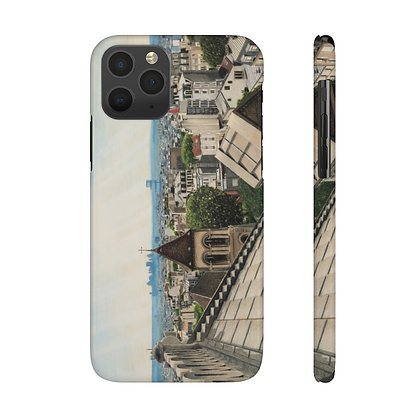 """Above a Heavenly City"" Phone Case"
