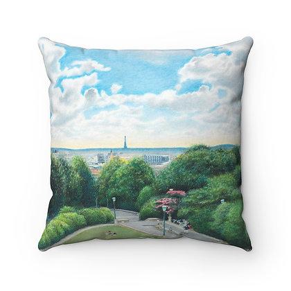 """""""Belleville Park"""" Pillow"""