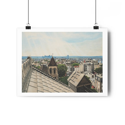 """Above a Heavenly City"" Limited Edition Print"