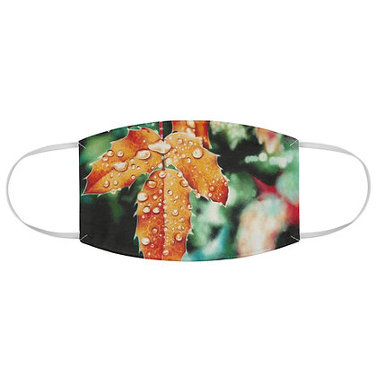 """""""Harvest Dewdrops"""" Fabric Face Mask"""