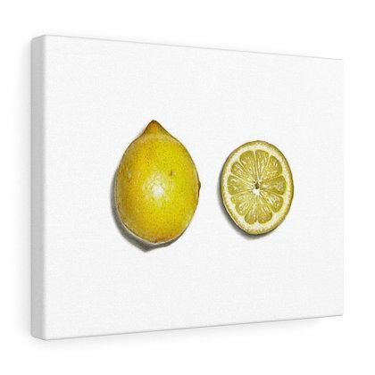 """""""Citrus Limon {Lemon}"""" Limited Edition Canvas Print"""