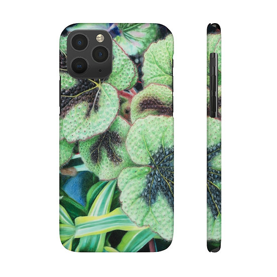 """Rhapsody in Green"" Phone Case"